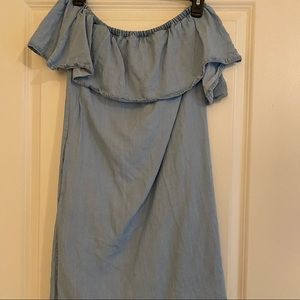 Guess Jean Dress- Off the shoulder Size XS